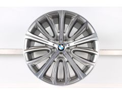 BMW Alloy Rim 6 Series G32 7 Series G11 G12 20 Inch Styling 628 V-Spoke