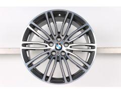 BMW Alufelge 5er G30 19 Zoll Styling 664 M Doppelspeiche