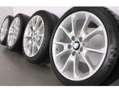 BMW Velgen met Zomerbanden 3 Serie F30 F31 4 Serie F32 F33 F36 18 Inch Styling 398 Y-Speiche