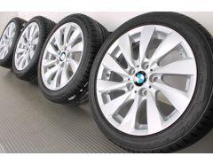 BMW Velgen met Zomerbanden 1 Serie F20 F21 2 Serie F22 F23 17 Inch Styling 381 Turbine-spaak