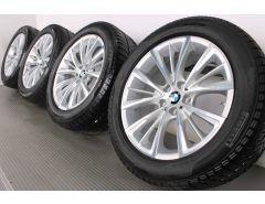 BMW Velgen met Winterbanden 6 Serie G32 7 Serie G11 G12 18 Inch Styling 643 W-Speiche