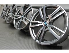 BMW Alloy Rims 2 Series F45 F46 18 Inch Styling 486 M Double-Spoke