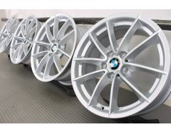 4x BMW Alloy Rims 5 Series G30 G31 6 Series G32 7 Series G11 G12 17 Inch Styling 618