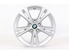 BMW Alloy Rim X1 F48 X2 F39 17 Inch Styling 385 Double-Spoke