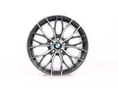 BMW Alufelge 1er F20 F21 2er F22 F23 19 Zoll Styling 405 M Doppelspeiche