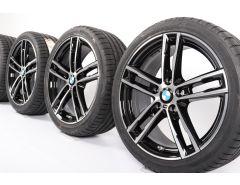 BMW Sommerkompletträder 1er F20 F21 2er F22 F23 18 Zoll Styling 719 M Doppelspeiche