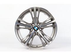1x BMW Alufelge 3er F30 F31 4er F32 F33 F36 19 Zoll Styling 407 W-Speiche