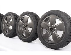 MINI Velgen met Winterbanden F55 F56 F57 16 Inch Styling Revolite Spoke 517