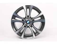 BMW Alloy Rim 1 Series F20 F21 2 Series F22 F23 18 Inch Styling 384 Double-Spoke