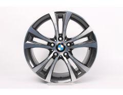 BMW Alloy Rim 1 Series F20 F21 2 Series F22 F23 18 Inch Styling 384 Double-Spoke