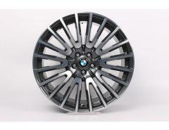 BMW Alufelge 6er G32 7er G11 G12 21 Zoll Styling 629 Vielspeiche
