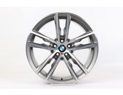 BMW Alloy Rim X3 G01 X4 G02 19 Inch Styling 698 M Double-Spoke