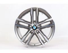 BMW Alufelge 3er F30 F31 4er F32 F33 F36 19 Zoll Styling 704 M Doppelspeiche