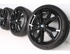 BMW Sommerkompletträder X1 F48 X2 F39 20 Zoll Styling 716 Y-Speiche