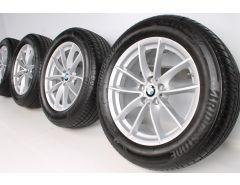 BMW Summer Wheels X3 G01 X4 G02 18 Inch Styling 618 V-Spoke