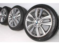 BMW Summer Wheels 2 Series F45 F46 18 Inch Styling 485 V-Speiche