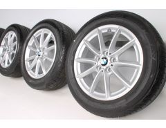 BMW Sommerkompletträder X1 F48 19 Zoll Styling 560 V-Speiche