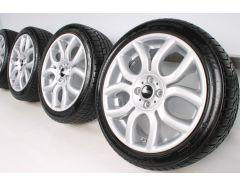 MINI Winter Wheels R50 R52 R53 R55 Clubman R56 R57 R58 R59 17 Inch Styling Flame Spoke R97