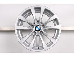 1x BMW Alufelge 3er F34 17 Zoll Styling 395 V-Speiche
