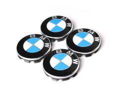 1 Satz BMW Nabendeckel 68mm gebraucht