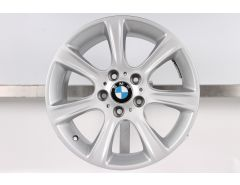 1x BMW Alufelge 3er F30 F31 4er F32 F33 F36 17 Zoll Styling 394 Sternspeiche