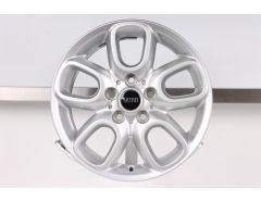 1x MINI Alloy Rim F55 F56 F57 Styling Loop Spoke 494