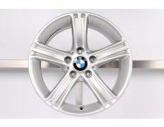 1x BMW Alloy Rim 3 Series F30 F31 4 Series F32 F33 F36 17 Inch Styling 393 Sternspeiche