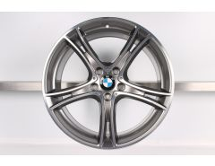 1x BMW Alufelge 3er F30 F31 4er F32 F33 F36 20 Zoll Styling 361 Doppelspeiche