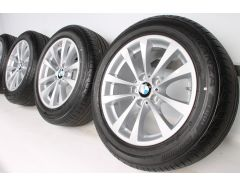 BMW Sommerkompletträder 3er F34 17 Zoll Styling 395 V-Speiche