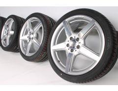 Mercedes-Benz Sommerkompletträder CLS-Klasse C218 (ab 01/11) 19 Zoll Styling 5-Speichen-Rad A2184011602 A2184011702
