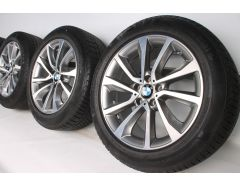 BMW Ganzjahresräder X6 F16 19 Zoll Styling 595 V-Speiche
