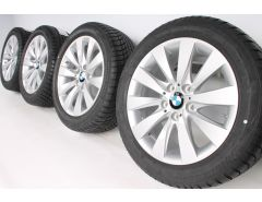 BMW Winter Wheels 3 Series F30 F31 4 Series F32 F33 F36 17 Inch Styling 413 V-Spoke