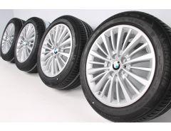 BMW Sommerkompletträder 2er F45 F46 17 Zoll Styling 481 Vielspeiche