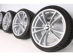 BMW Velgen met Winterbanden M5 F10 M6 F06 F12 F13 20 Inch Styling 409 M Doppelspeiche