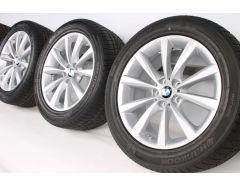 BMW Winterkompletträder 6er G32 7er G11 G12 18 Zoll Styling 642 V-Speiche