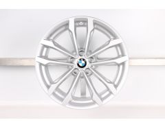 1x BMW Alufelge X3 G01 X4 G02 19 Zoll Styling 691 V-Speiche