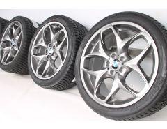 BMW Velgen met Winterbanden X5 E70 F15 21 Inch Styling 215 Doppelspeiche