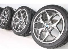 BMW Winterkompletträder X5 E70 F15 21 Zoll Styling 215 Doppelspeiche