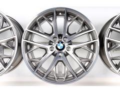 BMW Alloy Rim X1 E84 19 Inch Styling 465 Double-Spoke