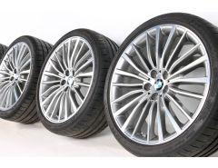 BMW Velgen met Zomerbanden 8 Serie G14 G15 G16 20 Inch Styling 700 Multi-spaak