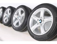 BMW Velgen met Zomerbanden 3 Serie F30 F31 4 Serie F32 F33 F36 17 Inch Styling 393 Sterspaak