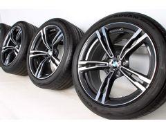 BMW Velgen met Zomerbanden M5 F90 M8 F91 F92 19 Inch Styling 705 M Doppelspeiche