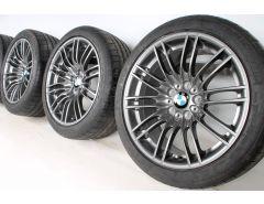 BMW Velgen met Zomerbanden M3 E90 E93 18 Inch Styling 260 M Dubbelspaak
