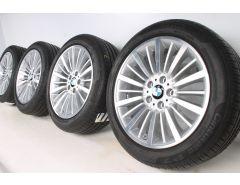 BMW Velgen met Zomerbanden 3 Serie F34 18 Inch Styling 416 Multi-spaak
