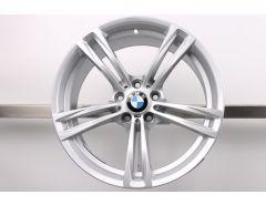 1x BMW Alufelge M5 F10 M6 F06 F12 F13 19 Zoll Styling 408 M Doppelspeiche