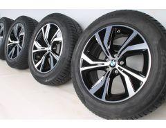 BMW Velgen met Winterbanden X3 G01 X4 G02 18 Inch Styling 689 Turbinenstyling