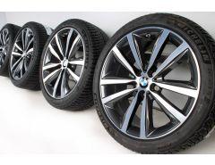 BMW Winter Wheels 8 Series G14 G15 G16 19 Inch Styling 690 Doppelspeiche