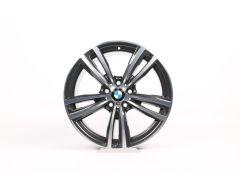BMW Alufelge 3er F30 F31 4er F32 F33 F36 19 Zoll Styling 442 M Doppelspeiche