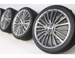 BMW Velgen met Winterbanden 8 Serie G14 G15 G16 20 Inch Styling 700 Vielspeiche