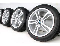 BMW Winterkompletträder X3 F25 X4 F26 19 Zoll Styling 369 M Doppelspeiche